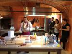 Cooking Class at Villa San Lorenzo in the Grand Salon