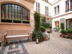 The Building Courtyard