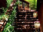 Bonne Chere, Flight of Stairs to the Property