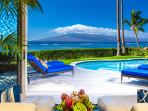 Opal Seas At Baby Beach - Ocean View Poolside Great Room with Indoor/Outdoor Living Experience, TV, DVD, Central...