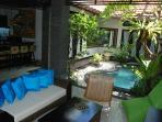 Semi outdoor living room