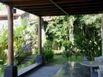 twin bedroom's terrace