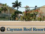 Cayman Reef Resort Sign