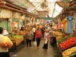 Machne Yehuda Market (15 mins walking distance from the apartment)