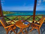View from Veranda facing the sea