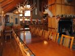 Dining area seats up to 36 guests!  Great for large family gatherings.