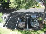 Plenty of parking