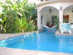 Pool, Hammock, Living room and Dining Area
