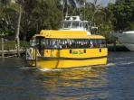 The water taxi is only about 8 miles away and offers rides to local resturant and bars &starts houss