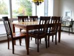 Kitchen table, which is expandable
