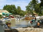 Canal du Midi at Capestang