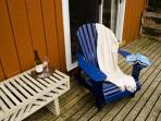 Relax on an Adirondack chair