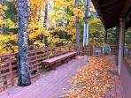Front Deck in Fall