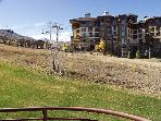 Slopeside condos with lift right the back door for true Click-in/Click out skiing