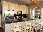 Newly Remodeled Kitchen with Bar for 4