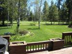 Summer View From Deck - Golf Course
