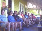 Guests all on the Porch.