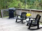 Back Deck with Propane Grill (Propane supplied)