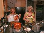 We have everything to prepair the full 'Thansgiving Dinner', so don't hold back and enjoy cooking.
