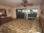 Master bedroom with its own lanai.