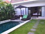 Pool / Bedroom 2