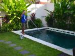 Wayan our pool cleaner
