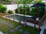 Temporary Pool Fence... now available for hire at your request . Fees apply