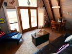 Living Room in A-Frame