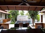 Outside Bar & Seating Area