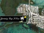 SERENITY BAY VILLAS - Garden-40Ft Dck; 200Ft Water