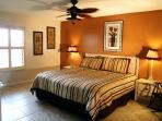 Master Bedroom with Ensuite and King Bed