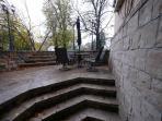 semi private patio