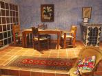 Classic Mexican Colonial Style Dining Room