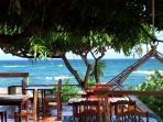 Cabier Restaurant and Bar - overlooking the ocean