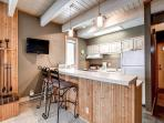 Sundowner Studio Kitchen Breckenridge Lodging Condo Rentals