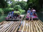Rafting on the Martha Brae - Trelawny