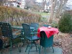 Back Patio furniture