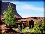 Moab Guest House, Horseback Riding across the property