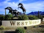 West World: 12.5 miles, 16 minute drive