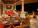 Phuket Luxury Villa Rental - Villa Oriole -Outside undercover terrace for dining or relaxing