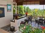 Phuket Luxury Villa Rental - Villa Oriole -Bar Sala with TV and dart Board