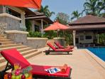 Phuket Luxury Villa Rental - Villa Oriole - sunbathing area