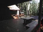 Deck Large deck with grill & picnic table