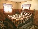 Master Bedroom With queen bed & Bathroom