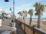 Boardwalk in Myrtle Beach