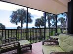 180 degree view of gulf from lanai