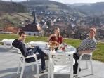 LLAG Luxury Vacation Apartment in Flörsbachtal - 904 sqft, Blockhouse sauna, fireplace stove, Internet,…