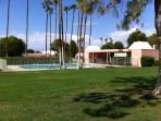 Close proximity to pool