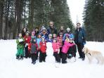Lake Wenatchee Sled Hill South Shore - gathering of friends