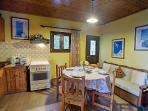 Kitchen at the villa